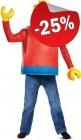 LEGO Kostuum Minifiguur (Maat 122-134), slechts: € 29,99