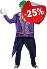 LEGO Kostuum The Joker (Maat L-XL), slechts: € 44,99