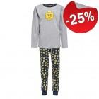 LEGO Pyjama GRIJS/BLAUW (Nicolai 720 - Maat 146)