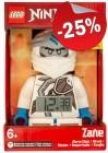 LEGO Wekker Ninjago Zane met Geluid, slechts: € 29,99