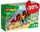 DUPLO 10872 Treinbrug en -rails, slechts: € 17,49