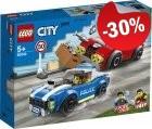 LEGO 60242 Politie Snelweg Arrestatie, slechts: € 13,99