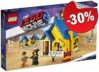 LEGO 70831 Emmets Droomhuis met Reddingsraket, slechts: € 45,49