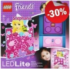 LEGO LED Nachtlamp Friends Stephanie, slechts: € 13,99
