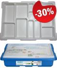 LEGO Opbergbox met Sorteertray Small BLAUW, slechts: € 13,99