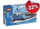 LEGO 10155 Maersk Container Schip BESCHADIGD