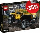 LEGO 42122 Jeep Wrangler, slechts: € 35,74