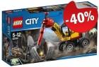LEGO 60185 Krachtige Mijnbouwsplitter, slechts: € 8,99