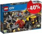 LEGO 60186 Zware Mijnbouwboor, slechts: € 23,99