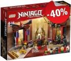 LEGO 70651 Troonzaalduel, slechts: € 11,99
