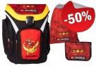 LEGO Explorer School Bag Set Ninjago Kai