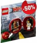 LEGO 5004916 Ninjago Kai's Dojo Pod (Polybag), slechts: € 5,00