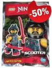 LEGO Scooter met Wapens (Polybag), slechts: € 1,00