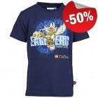 LEGO T-Shirt Chima DONKERBLAUW (Thor 441 Maat 104)