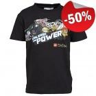 LEGO T-Shirt Chima ZWART (Thor 444 Maat 104)