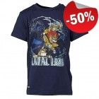 LEGO T-Shirt Chima Laval DONKERBLAUW (Thor 701 Maat 104)