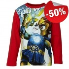 LEGO T-Shirt Chima ROOD (Thor 708 Maat 104)