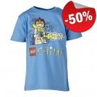 LEGO T-Shirt Chima LICHTBLAUW (Tristan 203 Maat 104)