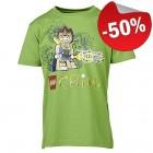 LEGO T-Shirt Chima GROEN (Tristan 203 Maat 104)