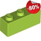 LEGO Steen 1x3 LIMEGROEN (100 stuks), slechts: € 1,60