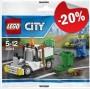 LEGO 30313 Stad Afvaldienst Auto (Polybag)