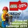 LEGO City Sloop en Constructie Collectie 2015