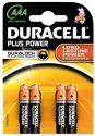 DURACELL Plus Power AAA MN2400 (4 stuks)