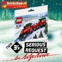 LEGO 30543 Serious Request Lifeline Kersttrein (Polybag)