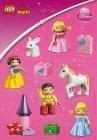 DUPLO Disney Princess Stickervel GRATIS