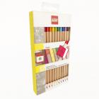 LEGO 12 Kleurpotloden met Steen Topper, slechts: € 12,99