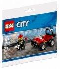 LEGO 30361 Brandweer Quad (Polybag), slechts: € 1,99