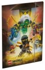 LEGO Elastomap Ninjago 4 Ninja's, slechts: € 3,99