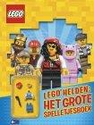 LEGO Helden - Het Grote Spelletjesboek, slechts: ¬ 6,95