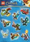 LEGO Stickervel Legends of Chima GRATIS