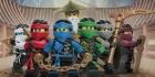 LEGO Strandlaken Ninjago 6 Ninja's, slechts: € 14,99