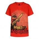 LEGO T-Shirt Ninjago ROOD (CM-51323 - Maat 104), slechts: € 14,99