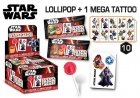 Star Wars Lollipop + Mega Tattoo, slechts: ¬ 1,25