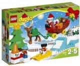 DUPLO 10837 Wintervakantie van de Kerstman