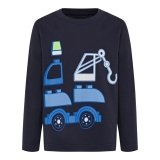 DUPLO T-Shirt DONKERBLAUW (CM-51100 - Maat 86)
