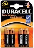 DURACELL Batterij AA MN1500 (4 stuks)