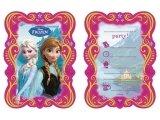 Disney Frozen - Uitnodigingen (6 stuks)