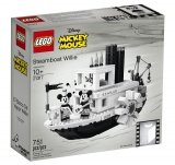 LEGO 21317 Stoomboot Willie