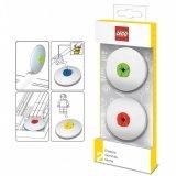 LEGO 2 Gummen ROOD & LIME