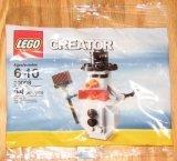 LEGO 30008 Sneeuwpop (Polybag)