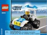 LEGO 30013 Politie Quad (Polybag)