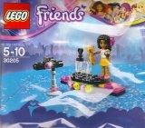 LEGO 30205 Popster Rode Loper (Polybag)