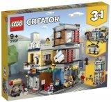LEGO 31097 Woonhuis - Dierenwinkel en Café