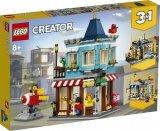 LEGO 31105 Woonhuis en Speelgoedwinkel