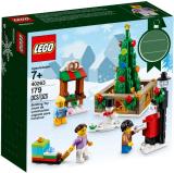 LEGO 40263 Kerst Stadsplein