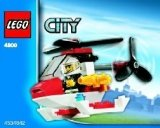 LEGO 4900 Brandweerhelicopter (Polybag)